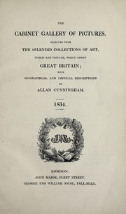 Cover of: The cabinet gallery of pictures