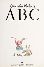 Cover of: Quentin Blake's ABC