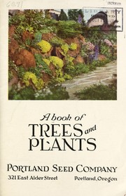 Cover of: A book of trees and plants