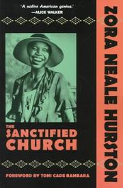 The sanctified church by Zora Neale Hurston