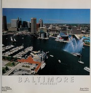 Cover of: Baltimore, a portrait | Miller, Roger