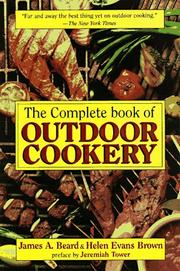 Cover of: The Complete Book of Outdoor Cookery | James Beard