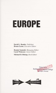 Cover of: Europe | Michael D. Biskup, book editor.