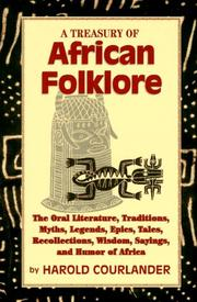 Cover of: A treasury of African folklore