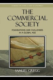 Cover of: The Commercial Society