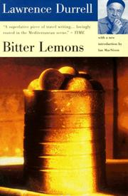 Cover of: Bitter lemons