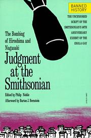Cover of: Judgment at the Smithsonian