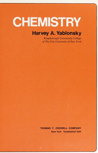 Chemistry by Harvey A. Yablonsky