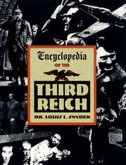 Cover of: Encyclopedia of the Third Reich