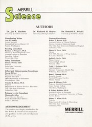Cover of: Merrill Science |