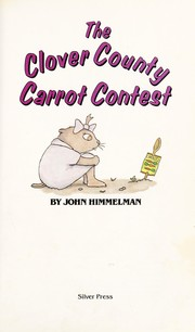 Cover of: The Clover County carrot contest