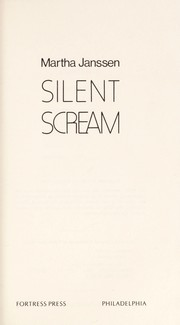 Cover of: Silent scream