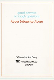 Cover of: About Substance Abuse (Good Answers to Tough Questions)