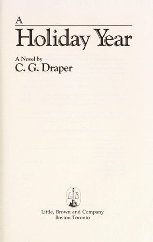 A holiday year by C. G. Draper
