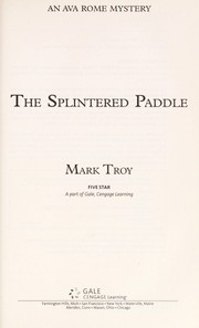 Cover of: The splintered paddle