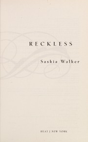 Cover of: Reckless | Saskia Walker