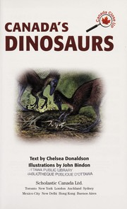Cover of: Canada's dinosaurs | Chelsea Donaldson