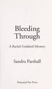 Cover of: Bleeding through | Sandra Parshall
