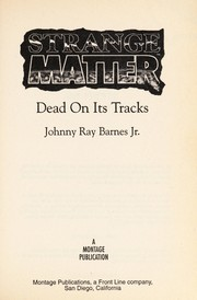Cover of: Dead on its tracks