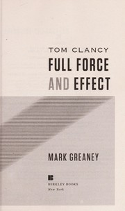 Cover of: Tom Clancy full force and effect