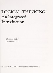 Cover of: Logical thinking | Wright, Richard A.