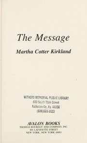 Cover of: The Message