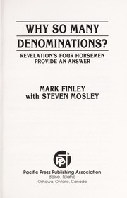 Cover of: Why so many denominations?