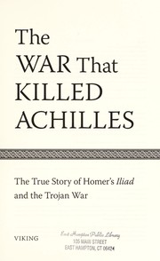 Cover of: The war that killed Achilles