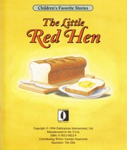 Cover of: The little red hen