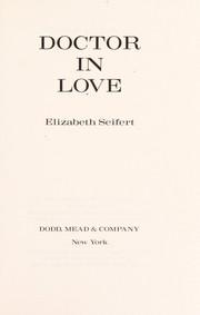 Cover of: Doctor in love