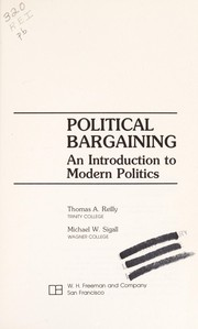 Cover of: Political bargaining