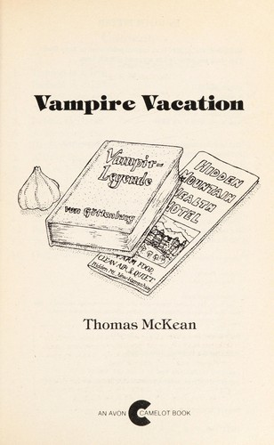 Vampire vacation by Thomas McKean