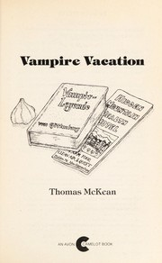 Cover of: Vampire vacation