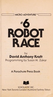 Cover of: Robot Race (Micro Adventure, Vol. 6)
