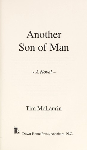 Another son of man by Tim McLaurin