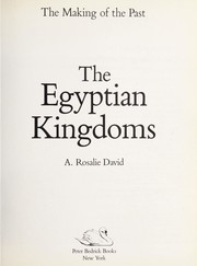 Cover of: The Egyptian kingdoms