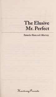 Cover of: The elusive Mr. Perfect