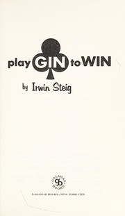 Cover of: Play gin to win