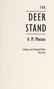 Cover of: The deer stand
