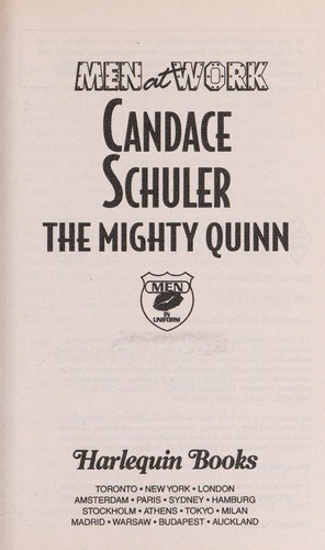 The Mighty Quinn (Men at Work) by Candace Schuler