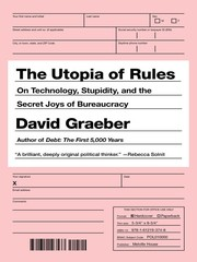 Cover of: The Utopia of Rules
