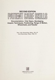 Cover of: Patient care skills | Mary Alice D. Minor