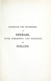 Cover of: A handbook for travellers in Denmark