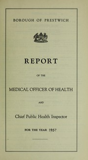 Cover of: [Report 1957] | Prestwich (England). Borough Council