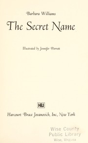 Cover of: The secret name