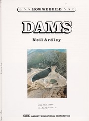 Cover of: Dams