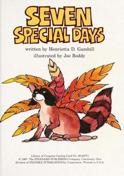 Cover of: Seven special days
