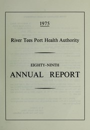 Cover of: [Report 1975] | River Tees Port Health Authority
