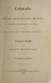 Cover of: Colorado