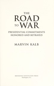Cover of: The road to war
